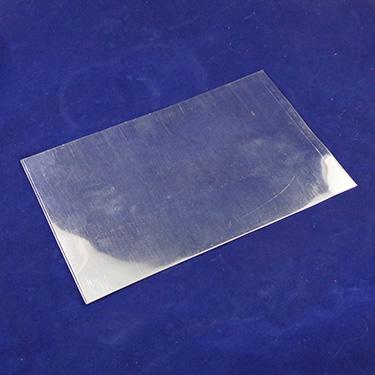 ZINC PLATED SHEET METAL .033 x 12 x 12 SECOND CHOICE QUALITY