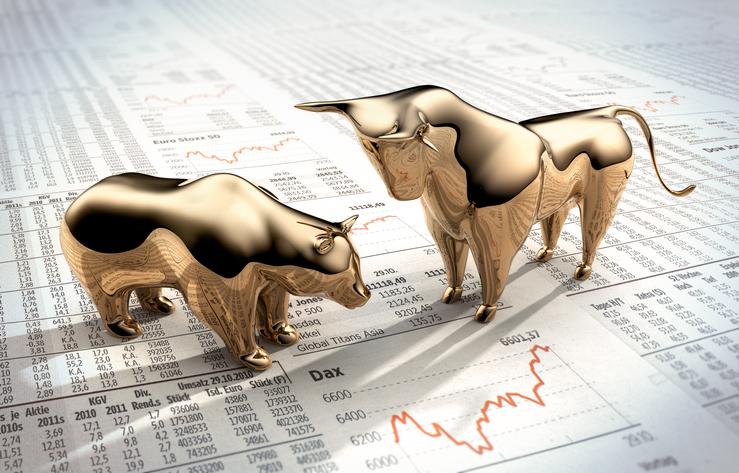 bull and bear metal market