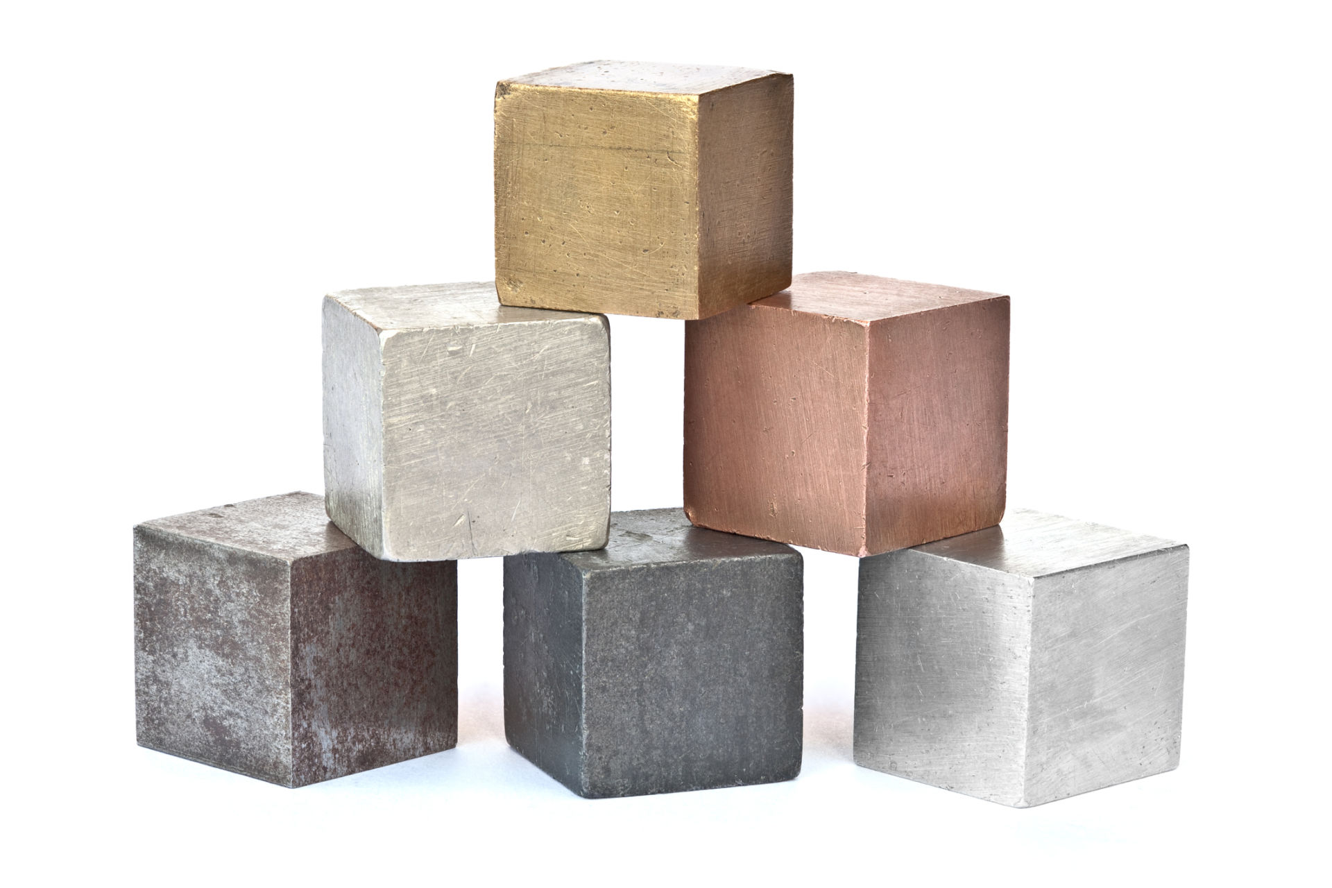 cubed and shot metal alloys