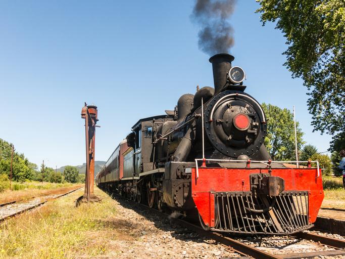 historic train, world event