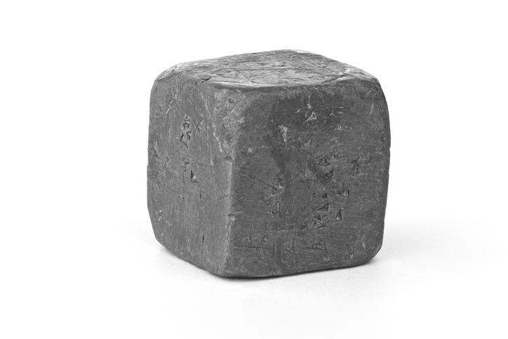 Lead cube